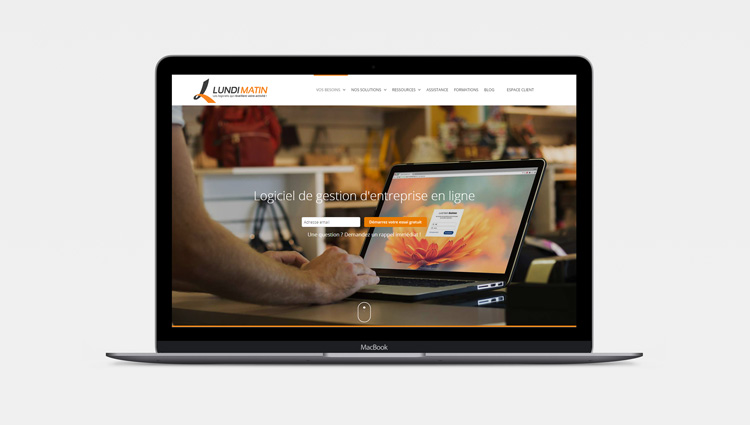Site web LUNDI MATIN