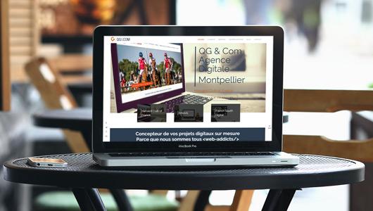 Site web QG & Com